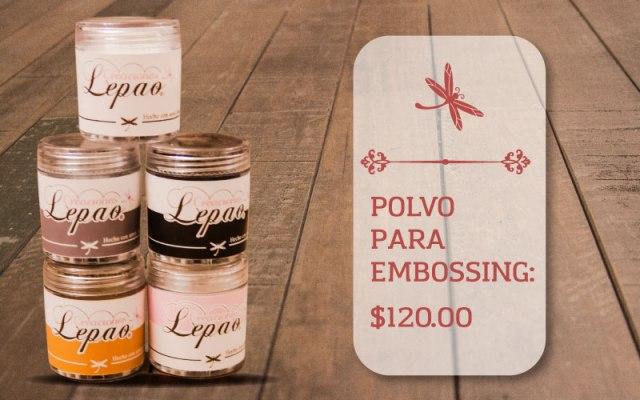 POLVO-EMBOSSING